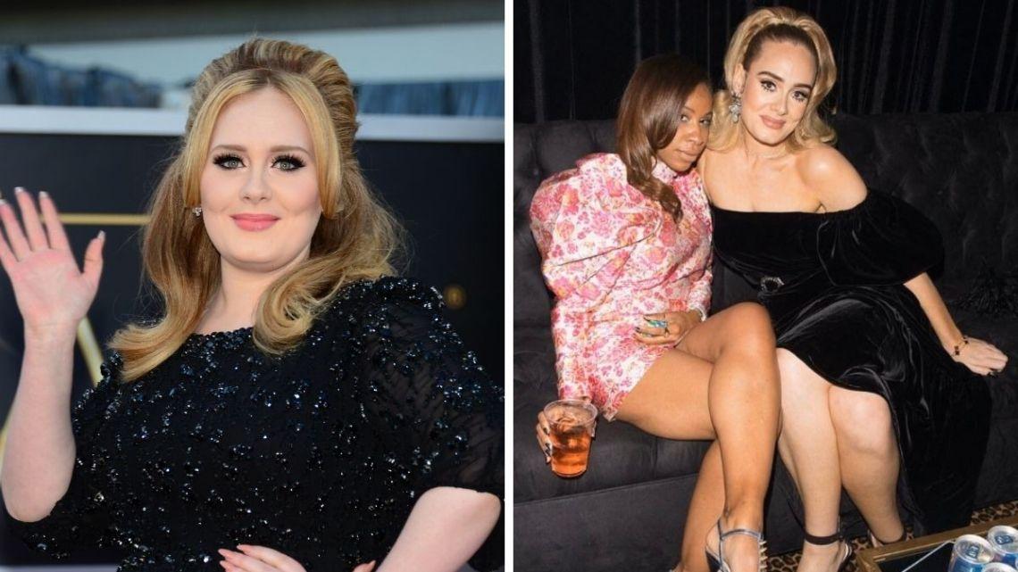 Adele antes y después