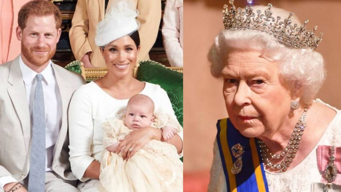 La reina Isabel acepta el pedido de Meghan y Harry pero se queda con la custodia de su hijo Archie