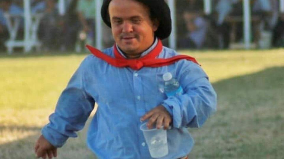 Federico Schreiber es conocido en el ambiente de las jineteadas.