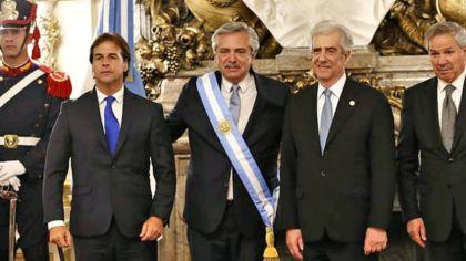 Luis Lacalle Pou alberto fernandez