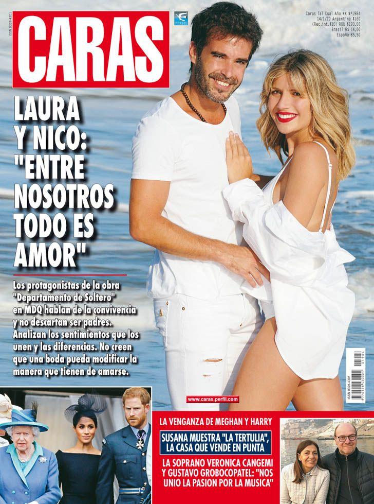 """Nico Cabré y Laurita Fernández: """"Entre nosotros todo es amor"""""""