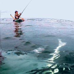 La pesca de cazones se recomienda hacerla acompañado para resolver diferentes dificultades.