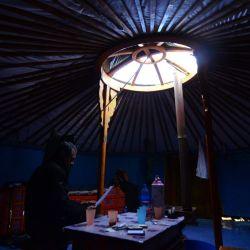 El ger no tiene compartimentos: los mongoles carecen de intimidad.