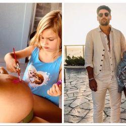 Mery del Cerro embarazada y con su hija que compartió una foto y derritió a sus fans