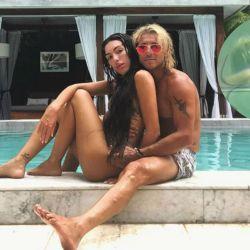 Sofía Bonelli y Claudio Caniggia