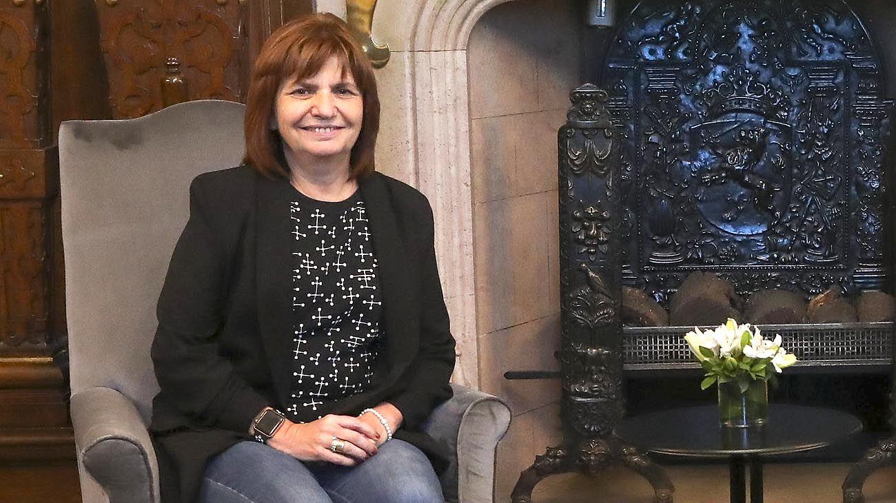 La ex ministra de seguridad Patricia Bullrich