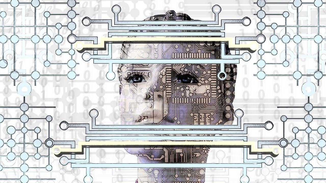 La era de los cyborgs.   Foto:Cedoc.