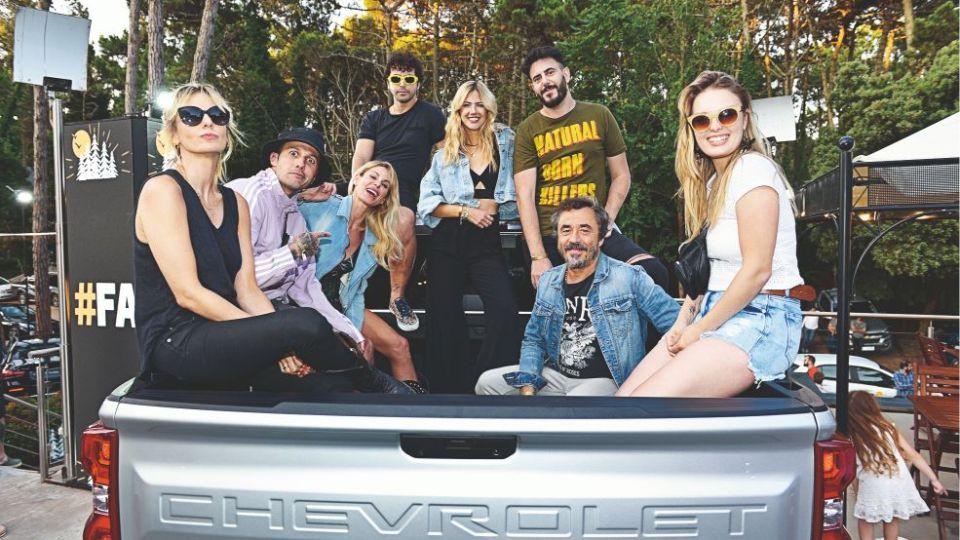 Chevrolet convocó las celebrities en su exclusivo parador en Cariló