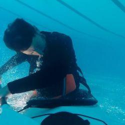 En este tipo de rescate es muy importante contar con un instructor o kayakista experimentado para que nos corrija.
