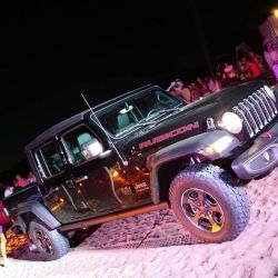 Prototipo de la pick-up Jeep Gladiator en Pinamar.