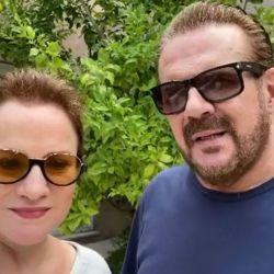 Lucía y Joaquín Galán