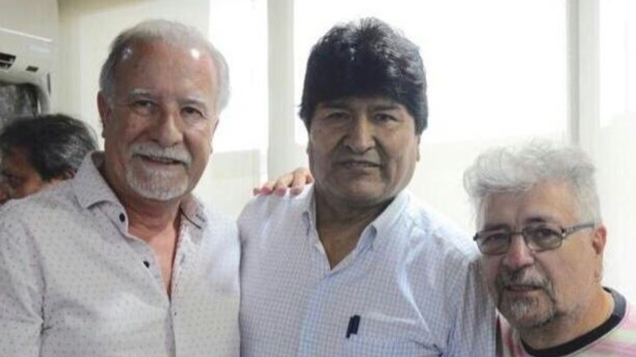 Evo Morales participó de un acto sindical con Plaini y afina detalles de la campaña en Bolivia