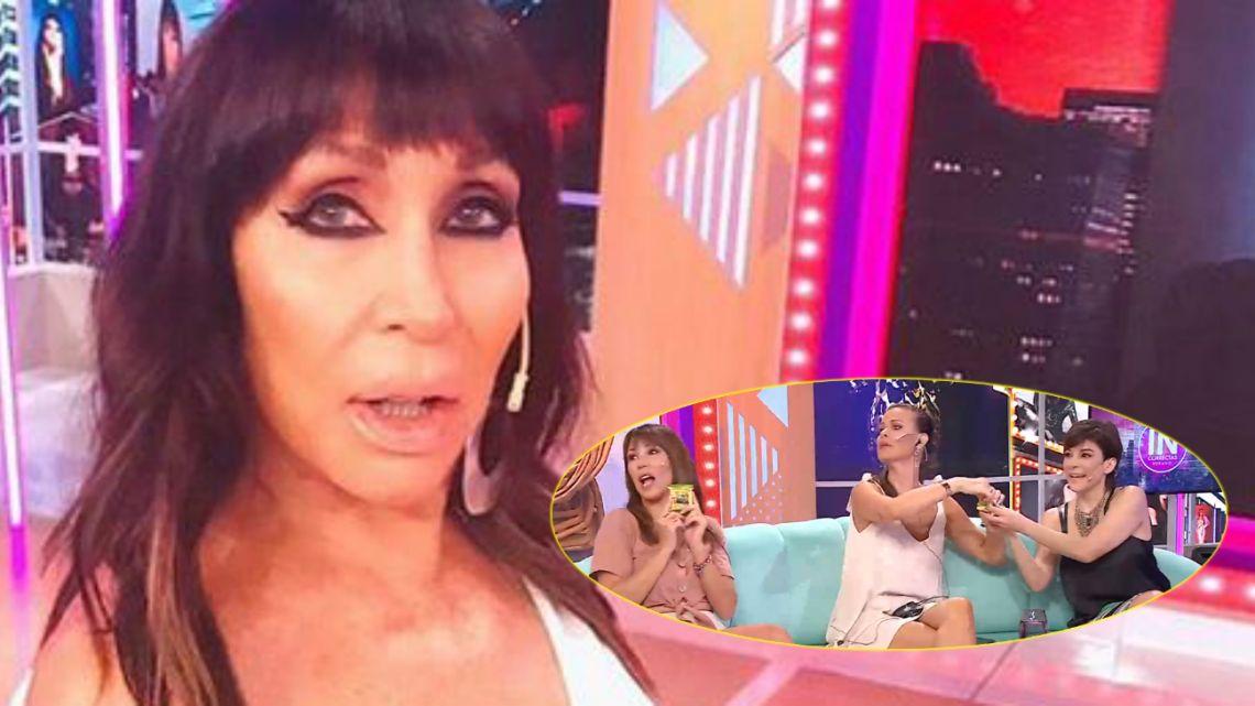 Moria Casán reveló por error el romance secreto de una de sus panelistas
