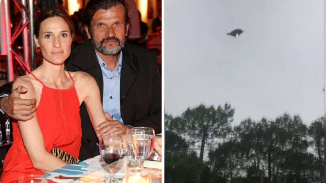 El detrás del indignante video del animal arrojado desde el helicóptero