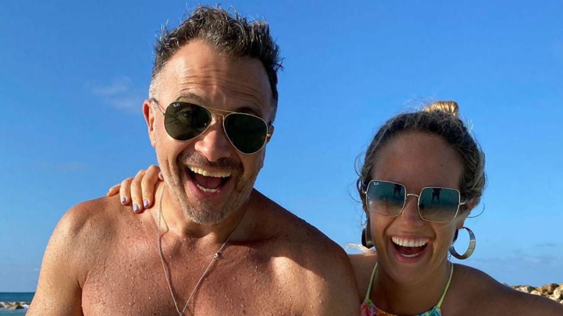 Sergio Lapegüe y su hija Micaela