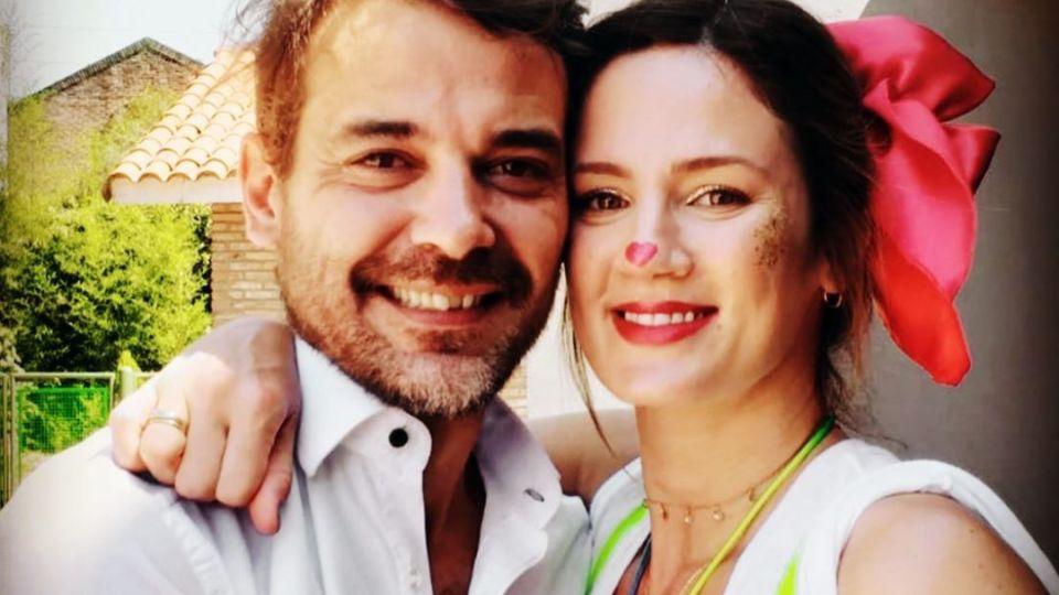 Pedro Alfonso y Paula Chaves, embarazada, derritieron Instagram con sus hijos