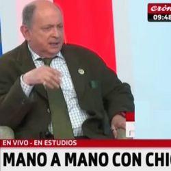 Chiche Gelblung en Crónica TV | Foto:Cedoc