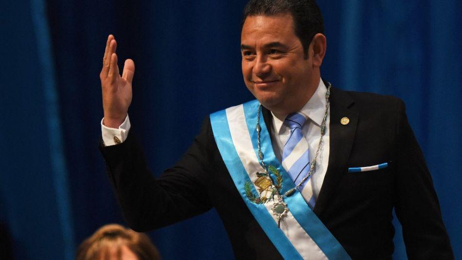 Guatemala, Alejandro Giammattei