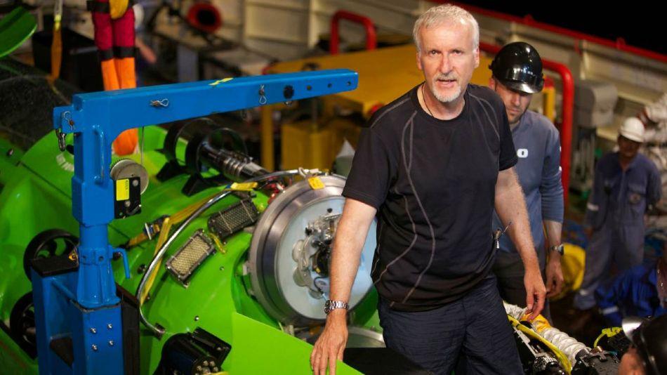 La increíble pasión de James Cameron por la exploración submarina