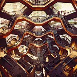 The Vessel es una curiosa estructura que hipnotiza por sus formas.