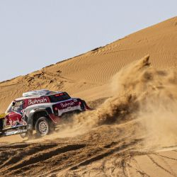 Stephane Peterhansel, 3° en el Rally Dakar 2020. Foto: Red Bull Content Pool.