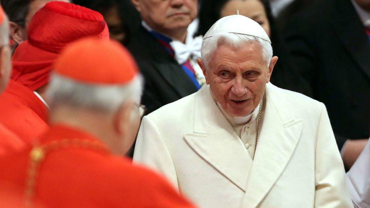 El Papa Benedicto XVI renunció al solio papal en 2013.