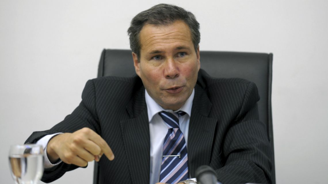 Argentina's Public Prosecutor Alberto Nisman during a press conference in Buenos Aireson on May 20, 2009.