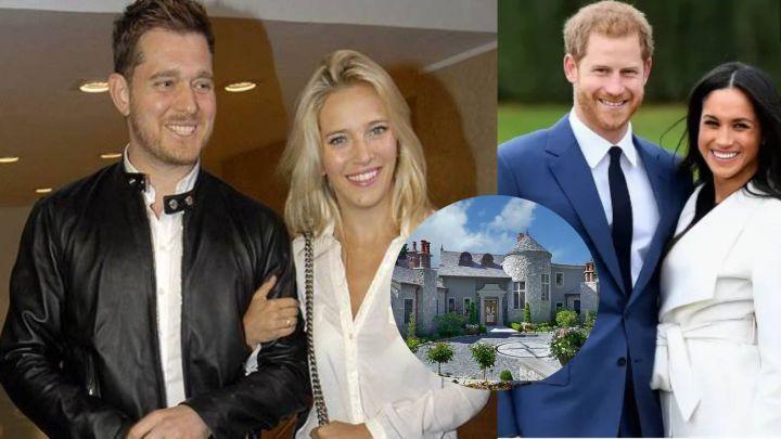 El príncipe Harry y Meghan Markle son los nuevos vecinos de Luisana Lopilato