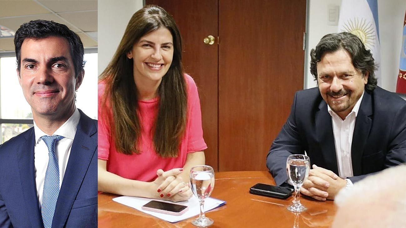 Actores. Urtubey se muestra alejado. La intendenta Romero y el gobernador Sáenz, agrietados.