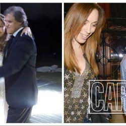 Quique Sacco llevó a María Eugenia Vidal a la fiesta de 15 de su ahijada, Melina