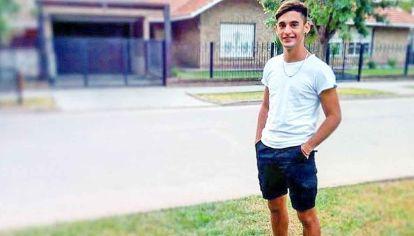 Elias Trisca. Al joven de 21 años lo mató su padrastro.