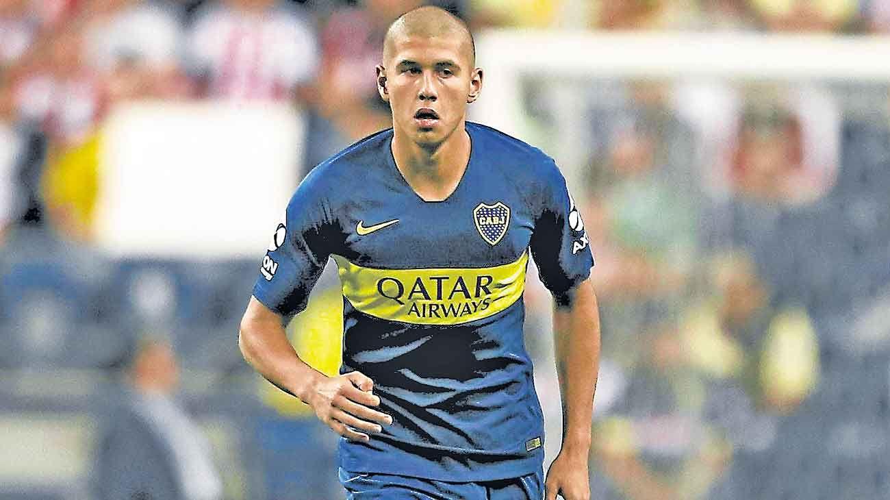Adios. El juvenil Ramos Mingo, de 18 años, se fue de Boca al Barcelona B.
