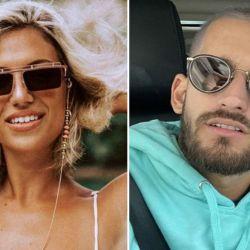 Stefania Roitman y Ricky Montaner