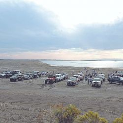 Unas 60 camionetas y 150 personas participaron del Raid del Nihuil.