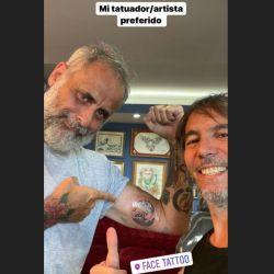 El nuevo tatuaje de Rial