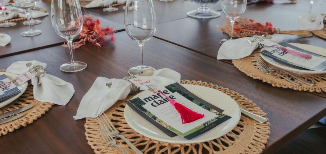 Las mejores fotos del exclusivo almuerzo Marie Claire en Las Cárcavas