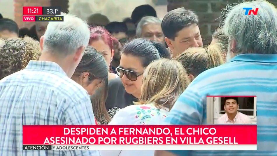 Despiden a Fernando en Chacarita.