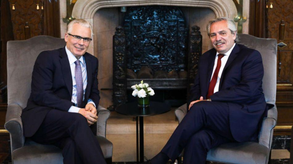 El presidente Alberto Fernández recibió a Baltasar Garzón.