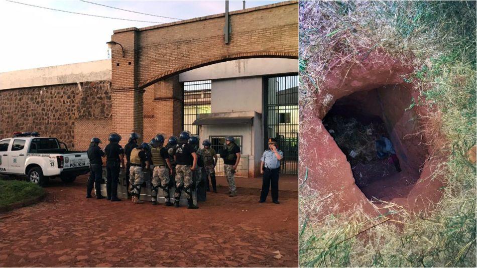 Los presos escaparon de la cárcel de San Pedro Caballero por medio de un túnel de 15 metros de extensión, que fue cavado en el baño de una celda.