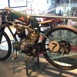 Las motos clásicas es una de las tantas temáticas del museo.