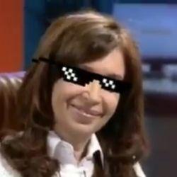 Meme de Cristina | Foto:Cedoc