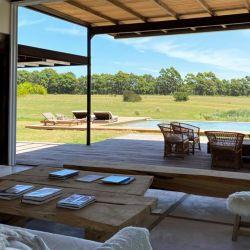 Un lujo: así es la casa que Pampita disfrutó durante sus vacaciones