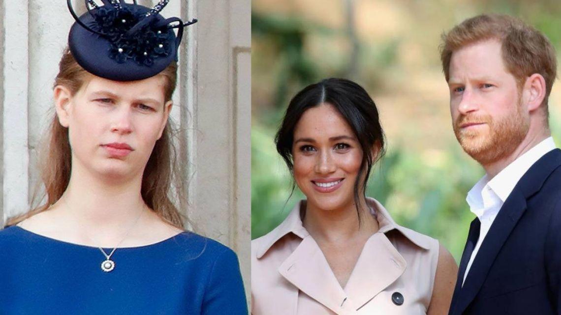 Lady Louise Windsor suplantará a los Sussex