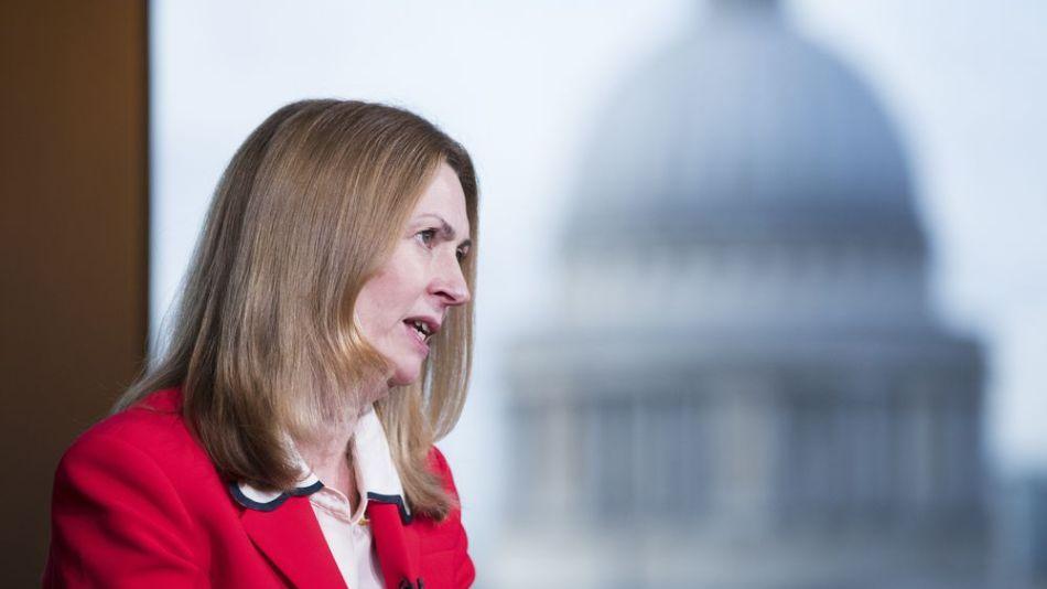 Anne Richards, directora ejecutiva de Fidelity International