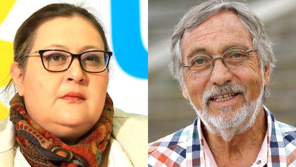 Graciana Peñafort y Luís Brandoni