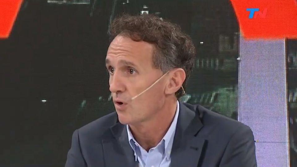 Gabriel Katopodis, ministro de Obras Públicas, en