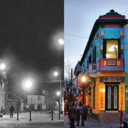 El famoso Caminito de La Boca, en Buenos Aires.
