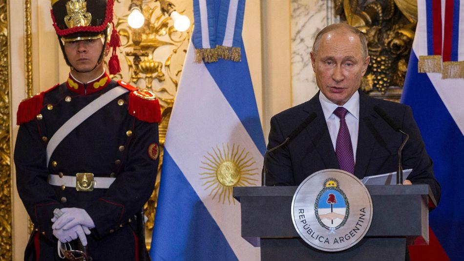 Archivo. Alberto Fernández tenía prevista una reunión con Vladimir Putin.