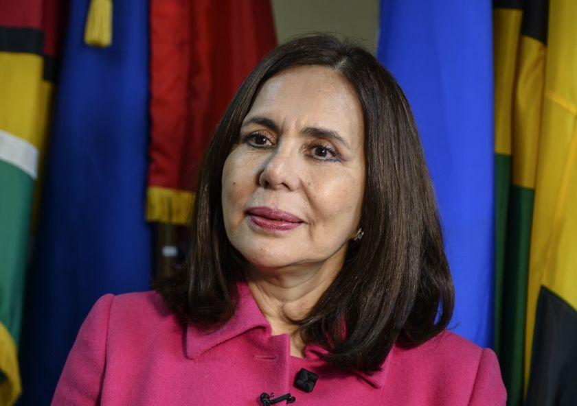"""La canciller de Bolivia acusó a Argentina de """"ideologizar"""" las relaciones bilaterales"""
