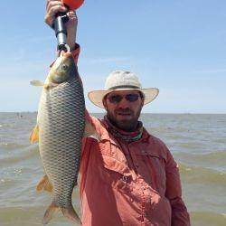Fernando Sánchez, un guía muy recomendable para este tipo de pesca.